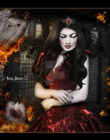 Queen of Broken Hearts by LadyxBoleyn