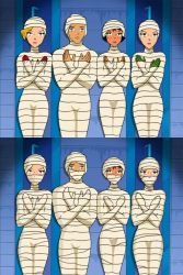Totally Spies - 4 Mummies by mummiesnstuff