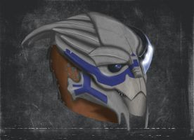 The Picture of Garrus Vakarian by MissSelfDestruct