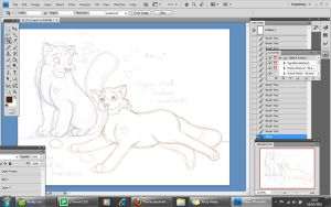Valentines WIP: Our family by TheFacelessFool