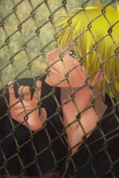 Locked in a Cage by Mel13