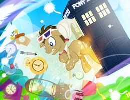 Doctor Saving Time by PixelKitties
