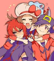 (Pokemon) Heart a Gold (Reader x Various) 1