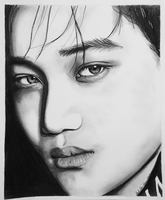 'Beautiful Stranger' EXO Kai by RemixedGalaxy