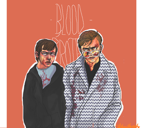blood brother :: commission by Akatsuki-Art