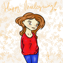 Happy Thanksgiving! by MZELLYFOO