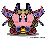 Kirbyformers 3: Thundercracker (SG) by Kirby-Force