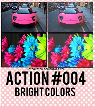 action #004 bright colors by MetchKetch