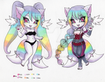 Kami Mod Exchange: Pastel Rainbow by Jyinxe