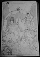 Teen Titans (Soft Pencils) by animaddict