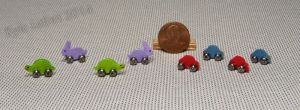 Miniature Cars, Bunnies, and Turtles On Wheels by Kyle-Lefort