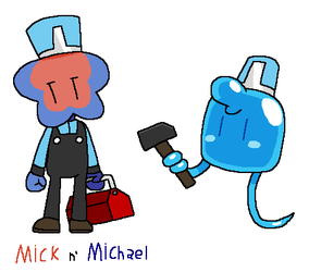 OC Profile: Mick and Michael by aeea7835