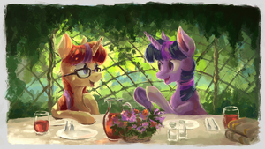 Lunch by Plainoasis
