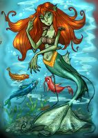 Mermaid by CARUTOONS