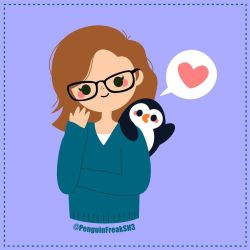 Self Portrait with Penguin Buddy by PenguinFreakSH