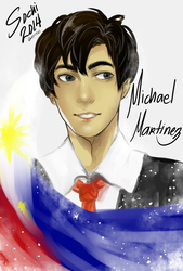 Michael Martinez by ricexi