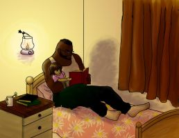 FF7 - Bedtime Stories by agates-link