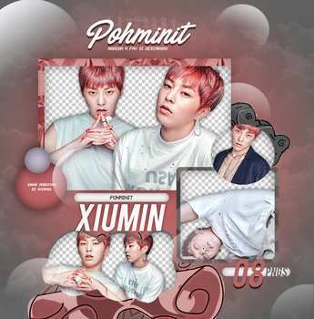 +Pack Png EXO|Xiumin 02 by Pohminit