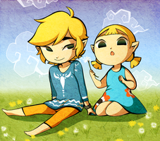 AT: Dandelions by koala-bears