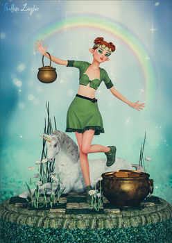 St. Patrick's Magic by Frollein-Zombie