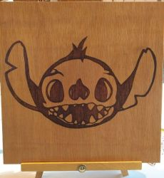 Stitch Skull by Envorenn