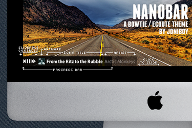 Nanobar: A sleek and minimal Bowtie/Ecoute theme by jonarific