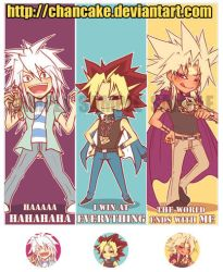 YGO BOOKMARKS by Chancake
