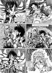 Saint Seiya #043 - The duty of a Knight by Gugaaa