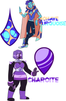 Gasuma Surprise Customs- Mohave and Charoite by XombieJunky