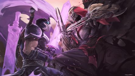 Shen Vs Zed by wacalac
