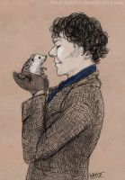 Holmes and Dr. Hedgehog by Mad-Hattie