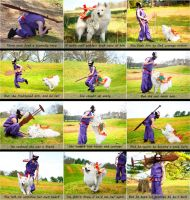 Okami Cosplay Comic: Susano and Amaterasu by volko-dav