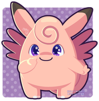 036 Clefable by Miss-Glitter