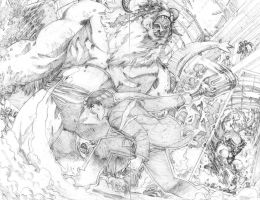 Pencils of Power 1 by ReillyBrown