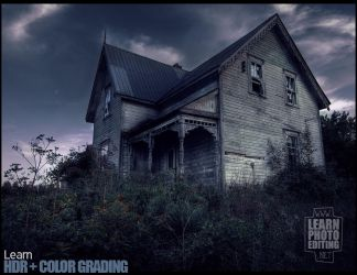 Haunted House by Colorist00