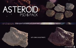 Asteroid PSD 6 Pack by Bmor-Creative