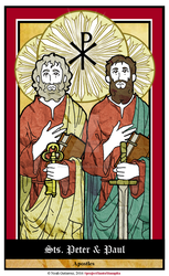 Sts Peter and Paul by NowitzkiTramonto