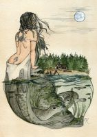 The Selkie by Kitty-Grimm