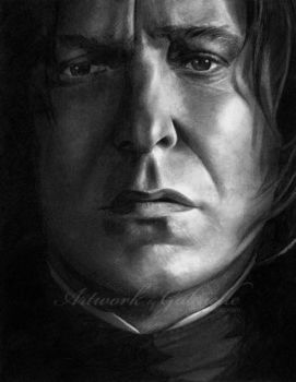 Professor Snape by gabbyd70