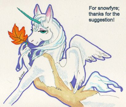 Whinni - Last Leaf of Fall by Catgoyle