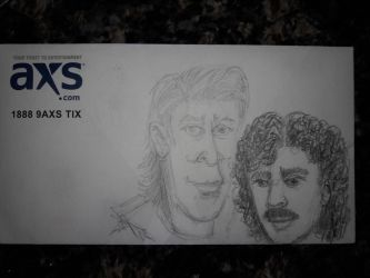 Hall and Oates by DoctorFantastic