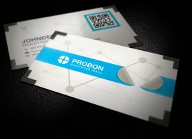 Corporate Business Card by xnOrpix