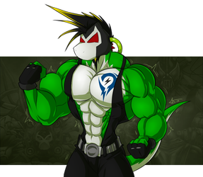 Yetshi as Bane by McTaylis