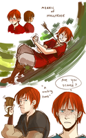 TP: Merric of Hollyrose by Minuiko