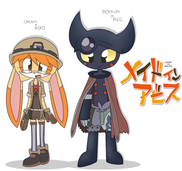 Made in Abyss X Sonic ~Cream and Bokkun~ by shadcream4eva