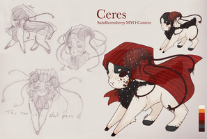 Ceres [SaSh MYO Contest Summer 2017] by celestrai