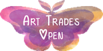 Moth Stamp - Art Trades Open by Moth-Doll