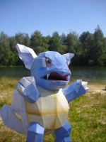 Wartortle Papercraft by TimBauer92