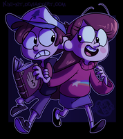 .:Gravity Falls:. by kiki-kit