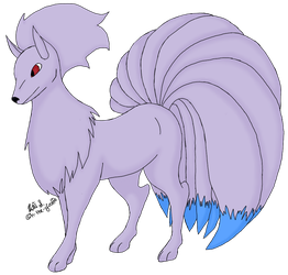 038 Ninetails by n-the-giraffe